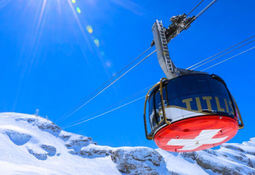 Titlis from Zurich